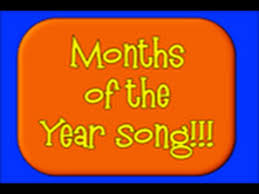 months of year song youtube
