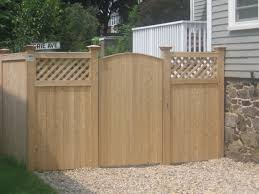 the dramatic fence designs for your front yard the home design