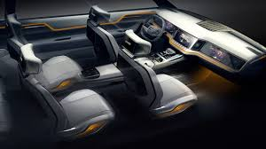 luxury jeep interior jeep yuntu concept potentially previews new 3 row seat suv