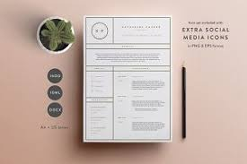 photo resume format 3 page resume template indd docx resume templates creative
