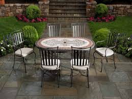 Oval Wrought Iron Patio Table 40 Wrought Iron Patio Furniture Sets For A Stylish Outdoor Area
