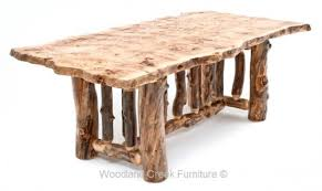 Log Cabin Dining Room Furniture Log Dining Furniture Dining Table Reclaimed Wood Tables