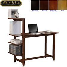 Espresso Secretary Desk by Home Reading Room Hutch Top White Office Desk Furniture Wd 4189