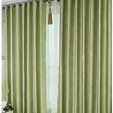 Green Color Curtains Multi Color Beautiful Striped Simple Modern Curtain Bedroom