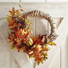 pier 1 imports asymmetrical faux gourd grass wreath best fall