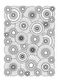 free coloring page coloring sunflower coloring