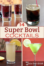 Games For Cocktail Parties - the best cocktails for a super bowl party are the ones that are