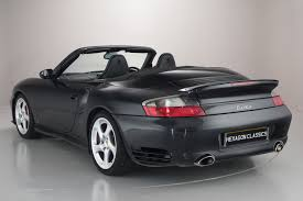 black porsche 911 turbo porsche 911 996 turbo cabriolet 2004 hexagon