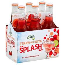 Bud Light Margaritas Bud Light Lime Straw Ber Rita Splash 6pk 12oz Bottles Target