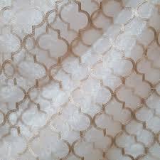 moroccan organza trellis design