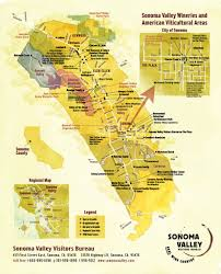 Map Of Sonoma County Sonoma Valley Winery Map Maplets
