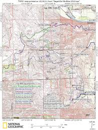 Wenatchee Washington Map by Trail Runs Around Wenatchee