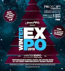 upcoming events open house winter expo urbanarts community winterexpo social