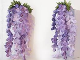 wisteria kanzashi by whimsicalartisan on deviantart