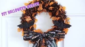 diy dollar tree halloween wreath youtube