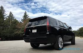 cadillac escalade tail lights 2016 cadillac escalade platinum review slashgear