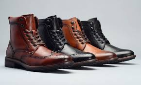groupon s boots up to 68 on s lace up combat boots groupon goods