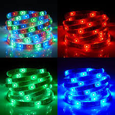 waterproof led strip light bright rgb ip65 8mm x 5m