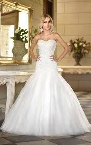 low waist wedding dress best 25 drop waist wedding dress ideas on
