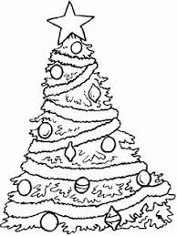 christmas tree decorations coloring christmas coloring