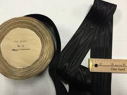 silk grosgrain ribbon black moire silk cotton grosgrain petersham millinery ribbon