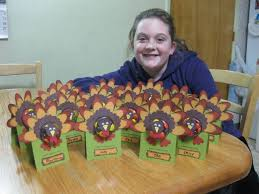 thanksgiving table favors jan s sting creations