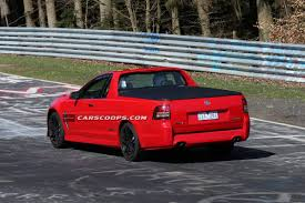 holden ssv new 2014 holden ute ssv wags its tail on the nürburgring