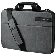 hp l6v68aa 15 6 signature slim topload notebook bag at the good guys
