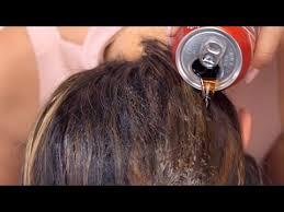 rinse hair with coca cola video qué pasará si se lava el cabello con coca cola tips del