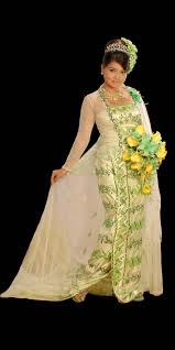 wedding dresses myanmar arts