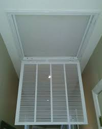 Ceiling Air Vent Deflector by Elima Draft Model