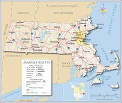Map Of Eastern States by Reference Map Of Massachusetts Usa Nations Online Project