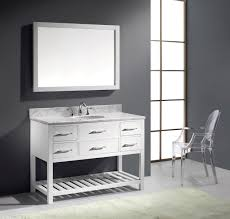 Virtu Bathroom Accessories by Virtu Usa Caroline Estate 48 Single Bathroom Vanity Set In White