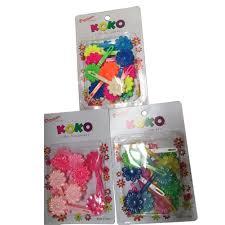 amazon com koko designer hair accessories 3pk pastel rainbow and