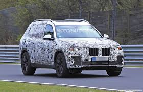 suv bmw 2019 bmw x7 spy shots and video