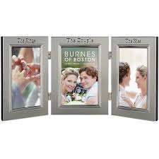 burnes of boston photo albums burnes of boston wedding hinged tabletop picture frame