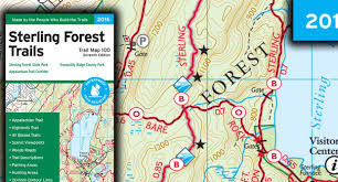 New York Appalachian Trail Map by Sterling Forest Trails Map