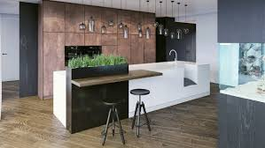 Kitchens And Interiors Black White U0026 Wood Kitchens Ideas U0026 Inspiration