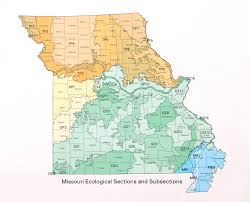 Mdc Map Ecoregions Of Missouri Mdc Discover Nature