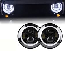 jeep black headlights 7