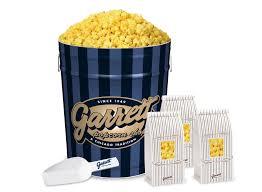 Garretts Popcorn Wedding Favors by Favor Bags And A Garrett Signature Blue Tin Of Buttery Popcorn