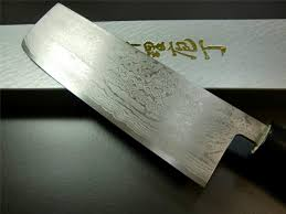 japanese kitchen knife damascus vg10 stainless steel nakiri knife