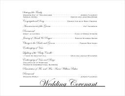 exles of wedding program wording wedding programs wording templates free finding wedding ideas