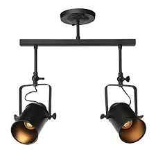 rustic track lighting fixtures rustic track lighting amazon com