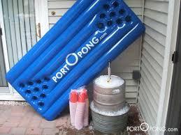 Pool Beer Pong Table by Ladies U0027 Gadgetsportopong World U0027s First Inflatable Beer Pong Table