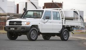 australia first for new toyota landcruiser 70 series double cab