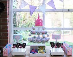 Princess Party Decorations Princess Party Table Decorations Cute And Girlish Party With