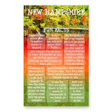 New Hampshire travel box images New hampshire fun facts postcard jpg