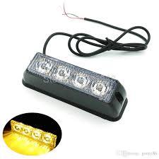 4 led 4 watt mini compact side front rear surface mount