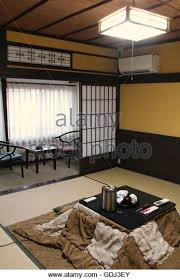 Hotel Window Japan Stock Photos  Hotel Window Japan Stock Images - Typical japanese bedroom